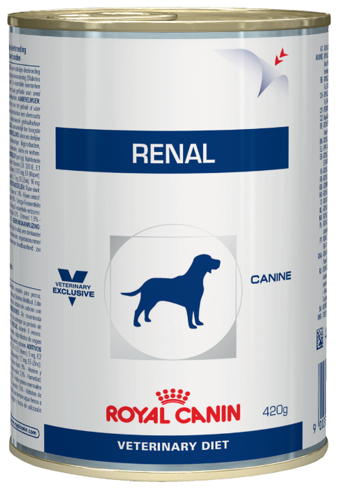 Корм для собак Royal Canin Renal при заболеваниях почек 12шт. х 410г