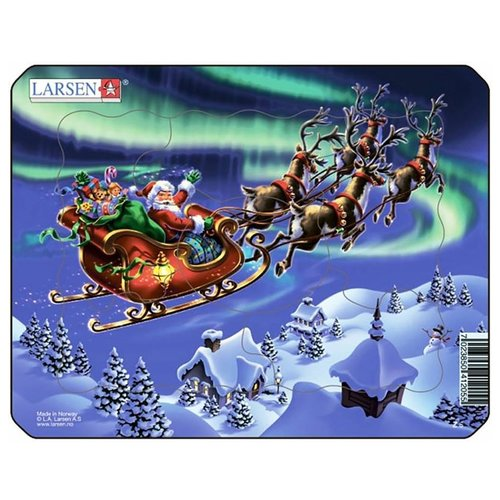 Купить Пазл Larsen Санта Клаус (XM1), 26 дет., Пазлы