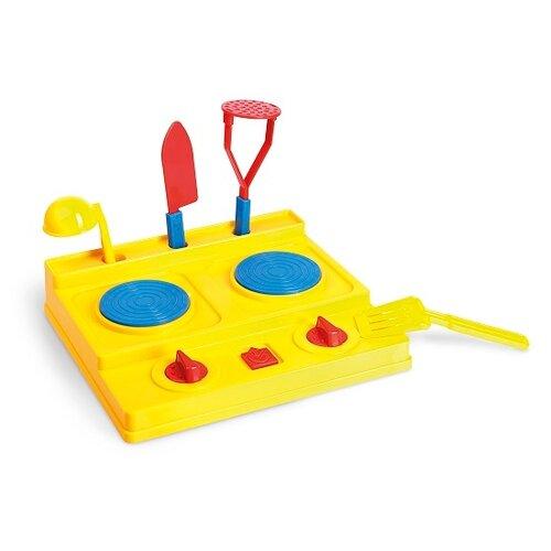 Фото - Плита ОГОНЁК С-248 желтый/синий/красный игрушка для ванной огонёк утенок с 355 желтый красный