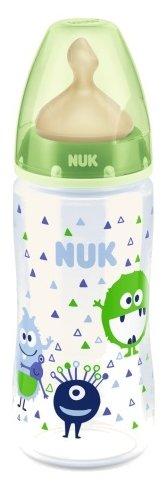 NUK First Choice Plus бутылочка из полипропилена с соской из латекса, 300 мл с рождения