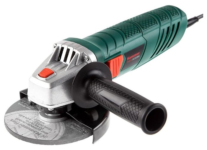 УШМ Hammer USM 900 E, 950 Вт, 125 мм