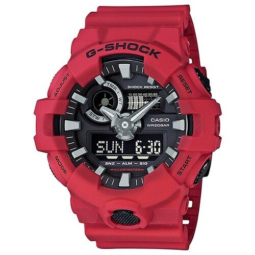 Наручные часы CASIO GA-700-4A casio часы casio ae 2100w 4a коллекция digital