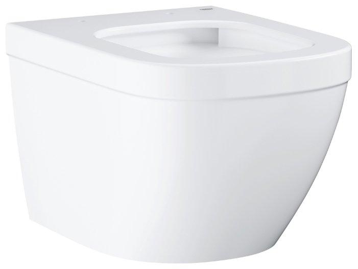 Чаша унитаза подвесная Grohe Euro Ceramic 3920600H с горизонтальным выпуском
