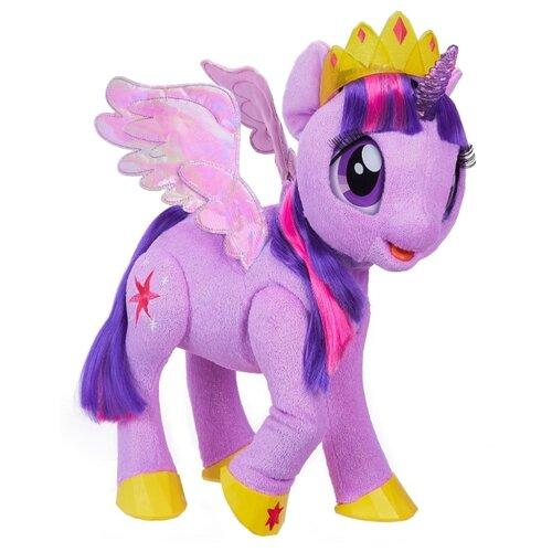 Интерактивная игрушка робот Hasbro My Little Pony Сумеречная Искорка фиолетовыйРоботы и трансформеры<br>