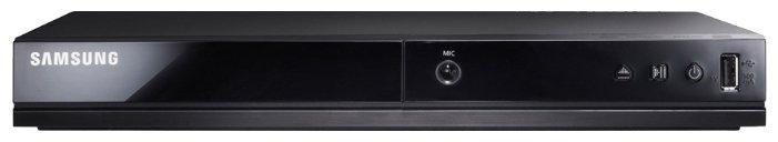 Плеер DVD Samsung DVD-E360K черный Караоке ПДУ