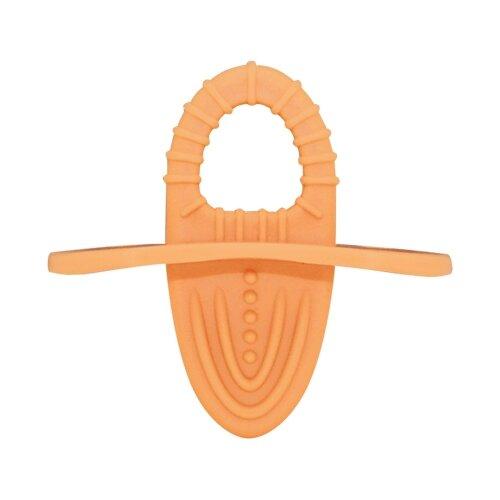 Купить Прорезыватель Lubby Первый светло-оранжевый, Погремушки и прорезыватели