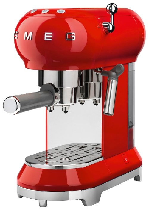 Кофеварка рожковая smeg ECF01 — купить по выгодной цене на Яндекс.Маркете