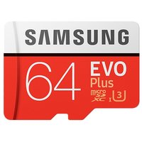 Samsung Micro SecureDigital 64Gb EVO Plus V2 Class 10 MB-MC64GA RU