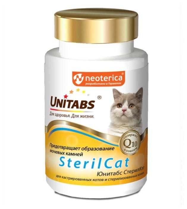 Добавка в корм Unitabs SterilCat для кастрированных
