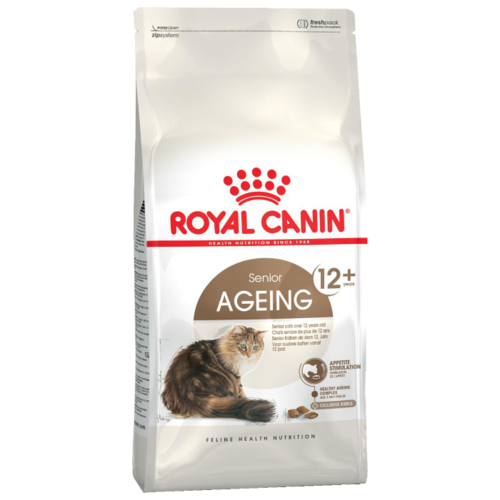 Фото - Сухой корм для пожилых кошек Royal Canin Ageing 12+ профилактика МКБ 400 г сухой корм для кошек royal canin urinary s o для лечения мкб 400 г