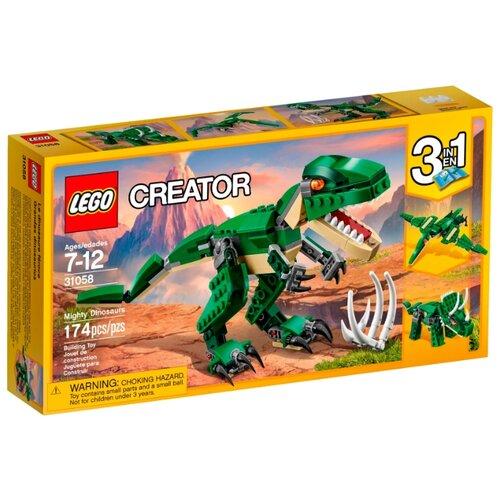 Конструктор LEGO Creator 31058 Могучие динозавры конструктор creator lego lego mp002xb00cac