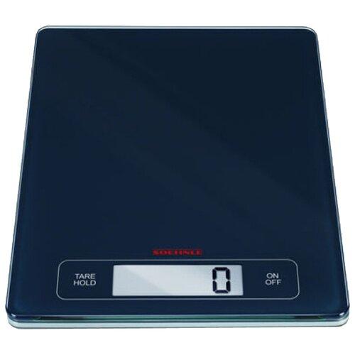 Кухонные весы Soehnle 67080 Page Profi черный весы soehnle page compact 300 white 61501