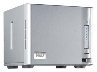 Сетевой накопитель (NAS) Western Digital WD ShareSpace 4 TB (WDA4NC40000)