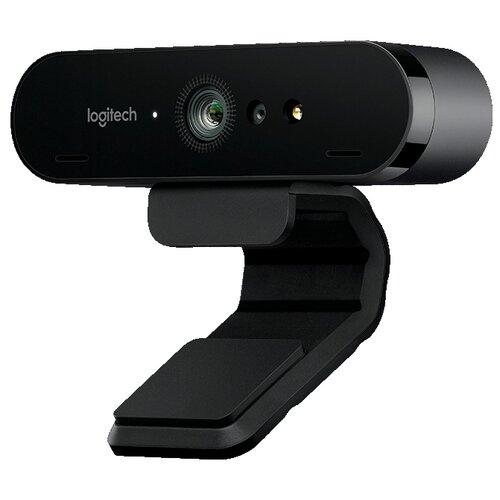 Веб-камера Logitech Brio черный
