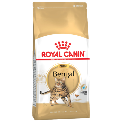 Корм для кошек Royal Canin Бенгальская для здоровья кожи и шерсти 400 г cat wet food royal canin ultra light pieces in jelly 24 85 g cat wet food royal canin aging 12 pieces in jelly 85 g 24