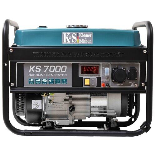 Бензиновый генератор K&S Könner & Söhnen KS 7000 (5000 Вт)