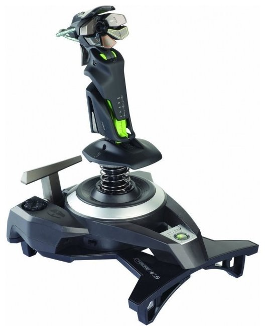 Saitek Джойстик Saitek Cyborg F.L.Y. 9 Wireless Flight Stick for Xbox 360
