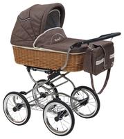 Коляска для новорожденных Reindeer Wiklina Eco-Line (люлька + автокресло)