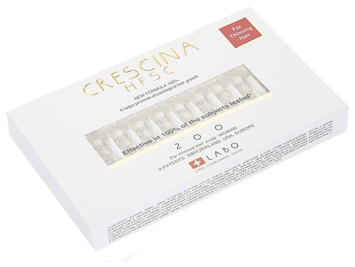 Crescina Ампулы для стимуляции роста волос для женщин, дозировка 200