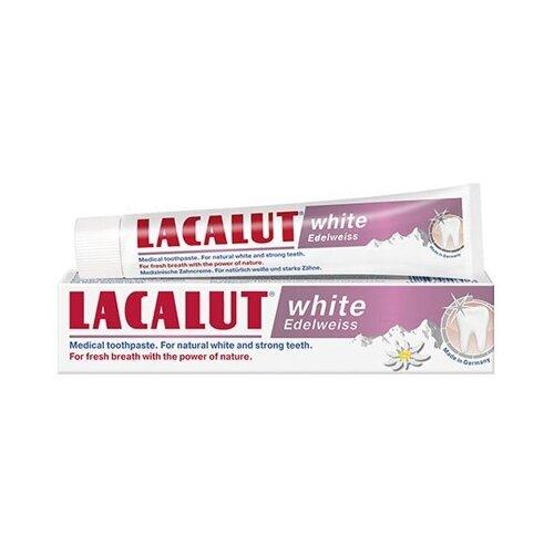 Зубная паста Lacalut White Edelweiss 75 млЗубная паста<br>