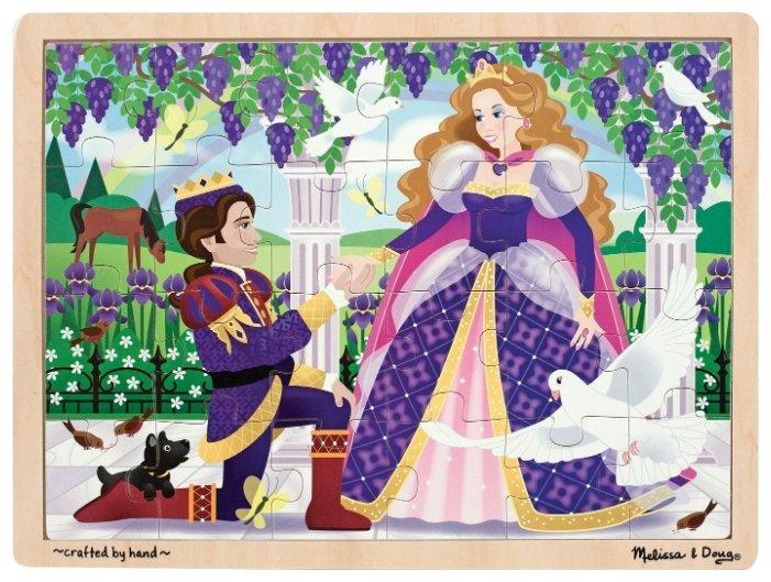 Пазл Melissa & Doug Принц и Принцесса (9067), 24 дет.