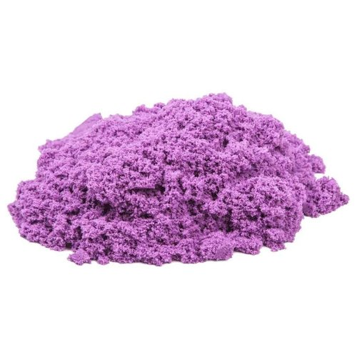 Купить Кинетический песок Космический песок базовый, сиреневый, 1 кг, пластиковый контейнер
