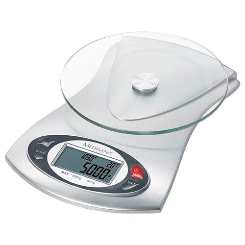 Кухонные весы Medisana KS 220 серебристый