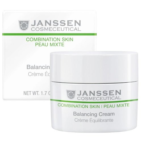 Janssen Combination Skin Balancing Cream Балансирующий крем для лица, 50 мл janssen optimal tinted complexion cream отзывы