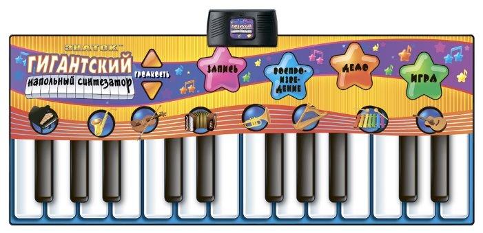Музыкальный коврик Знаток Гигантский напольный синтезатор (SLW928)