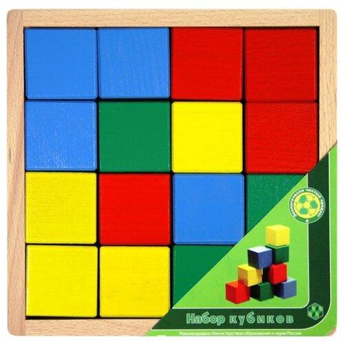 Кубики Престиж-игрушка цветные АЦ2200