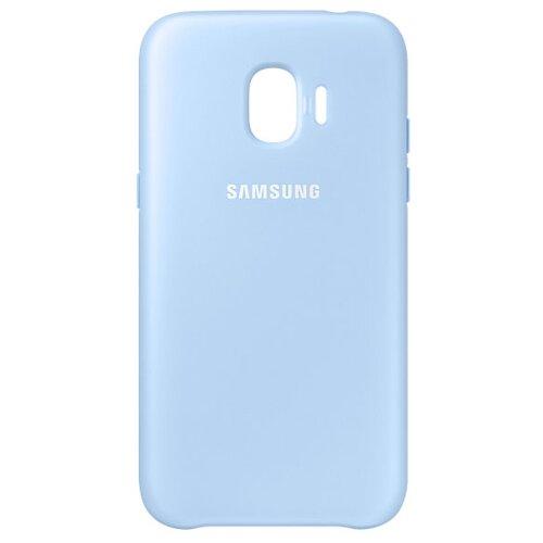 Чехол Samsung EF-PJ250 для Samsung Galaxy J2 (2018) / J2 Pro (2018) голубой чехол накладка для samsung galaxy j2 2018 j2 pro 2018 df sslim 34 blue