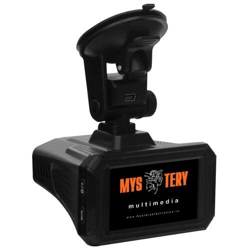 Видеорегистратор с радар-детектором Mystery MRD-1010SHDVSG, GPS черный