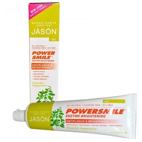 Купить Зубная паста JASON Powersmile ферментативная Перечная мята, 119 г