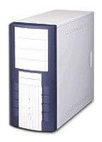 Компьютерный корпус Powerman PM-6008 300W Blue