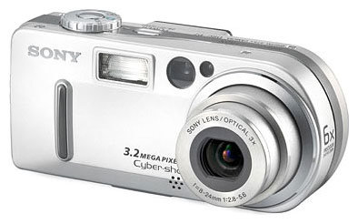 Фотоаппарат Sony Cyber-shot DSC-P7