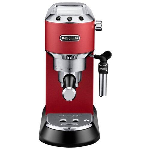 Фото - Кофеварка рожковая De'Longhi Dedica EC 685 красный кофеварка delonghi ec 685 w