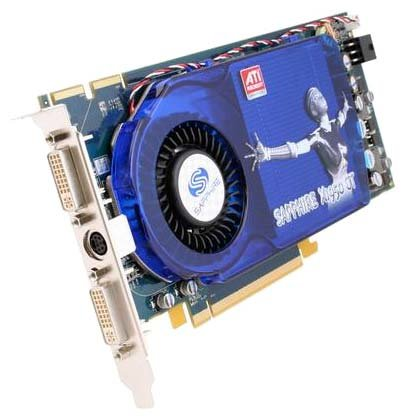 Sapphire Radeon X1950 GT 500Mhz PCI-E 256Mb 1200Mhz 256 bit 2xDVI TV HDCP YPrPb