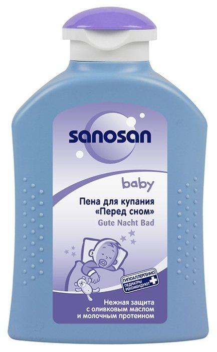 "Sanosan Baby Пена для купания ""Перед сном"""