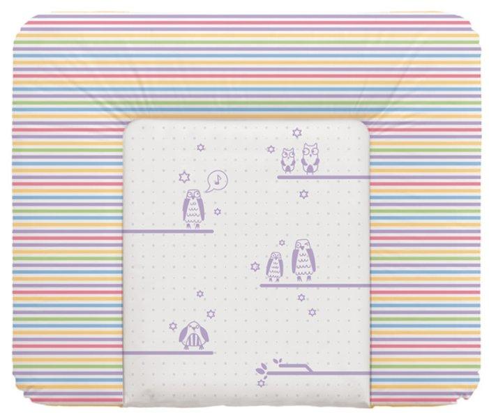 Матрас пеленальный Ceba Baby 70х75 см мягкий на комод Stars beige