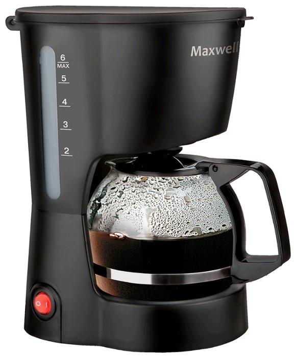 Капельная кофеварка Maxwell MW-1657