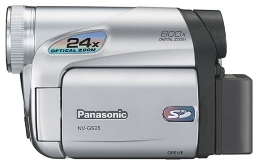 Сравнение с Panasonic NV-GS25