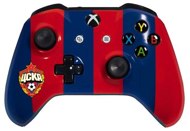 Microsoft Геймпад Microsoft Xbox One Wireless Controller FC CSKA