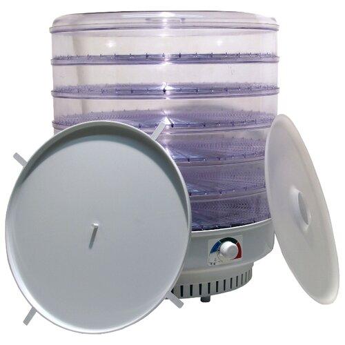 Сушилка Спектр-Прибор ЭСОФ-0.6/220 Ветерок-2 прозрачный (6 поддонов, поддон для пастилы) белый