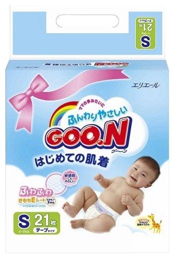 Goo.N подгузники S (4-8 кг)