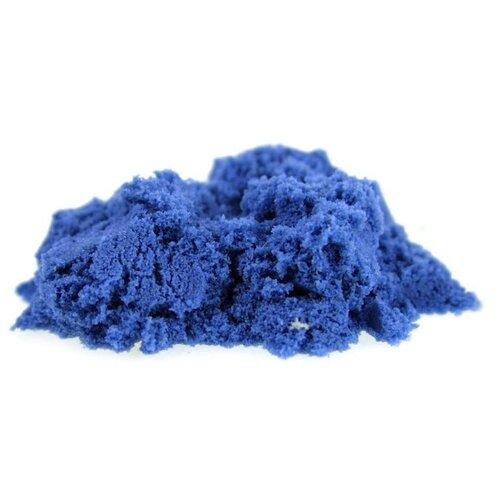 Кинетический песок LORI Домашняя песочница, синий, 0.7 кг, пластиковый контейнер