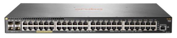 HP Коммутатор HP Aruba 2930F 48G PoE+ 4SFP+