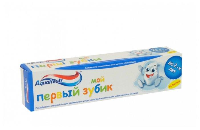 Aquafresh Зубная паста Мой первый зубик 0-2 лет
