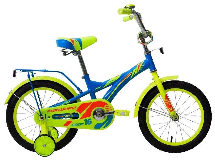 Детский велосипед FORWARD Crocky 16 (2018)