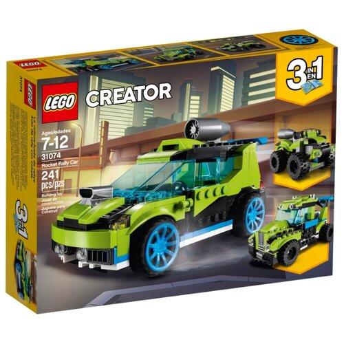 Конструктор LEGO Creator 31074 Суперскоростной раллийный автомобиль конструктор creator lego lego mp002xb00c9r