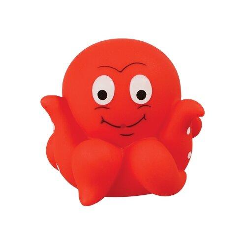 Купить Игрушка для ванной Lubby Светящийся осьминожек (13829) красный, Игрушки для ванной